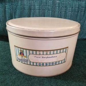 Vintage Delcara Royal Marshmallows Tin | 5 lbs